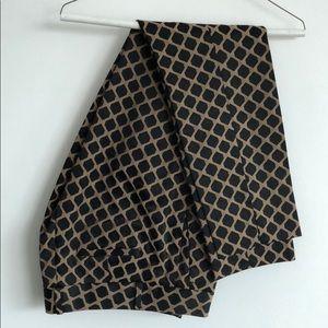 Black & Tan Ponte Dress Pants